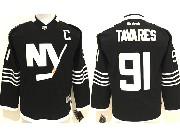 Youth Reebok Nhl New York Islanders #91 Tavares Black Jersey
