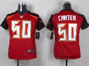 Youth Nfl Tampa Bay Buccaneers #50 Carter Red Game Jersey