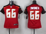 Youth Nfl Tampa Bay Buccaneers #66 Omameh Red Game Jersey