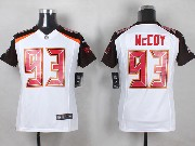 Youth Nfl Tampa Bay Buccaneers #93 Mccoy White Game Jersey