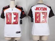 Women  Nfl Tampa Bay Buccaneers #83 Jackson White Game Jersey