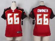 Women  Nfl Tampa Bay Buccaneers #66 Omameh Red Game Jersey