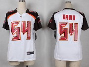 Women  Nfl Tampa Bay Buccaneers #54 David White Game Jersey