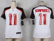 Women  Nfl Tampa Bay Buccaneers #11 Humphries White Game Jersey