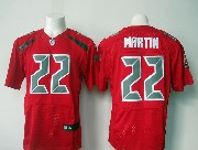 Mens Nfl Tampa Bay Buccaneers #22 Martin Red (2016 New) Elite Jersey