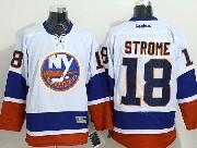 Mens reebok nhl new york islanders #18 strome white Jersey