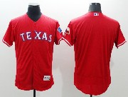 mens majestic texas rangers blank red Flex Base jersey
