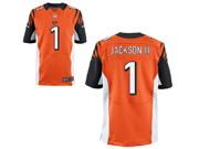 Mens Nfl Cincinnati Bengals #1 William Jackson Orange Elite Jersey