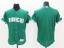 mens majestic arizona diamondbacks blank green Flex Base jersey