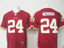 Mens Nfl Washington Redskins #24 Josh Norman Red Elite Jersey