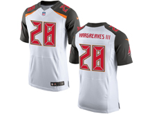 Mens Nfl Tampa Bay Buccaneers #28 Vernon Hargreaves Iii White Elite Jersey