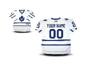 Youth Reebok Toronto Maple Leafs (custom Made) White Premier Away Jersey