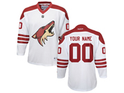 Youth Nhl Arizona Coyotes (custom Made) White Jersey