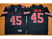 Youth Ncaa Nfl Ohio State Buckeyes #45 Archie Griffin Black Football Jersey