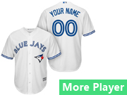Mens Majestic Toronto Blue Jays White Cool Base Jersey