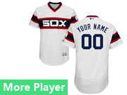 Mens Majestic Chicago White Sox White Pullover Flex Base Current Player Jersey
