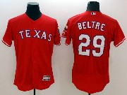 mens majestic texas rangers #29 adrian beltre red Flex Base jersey