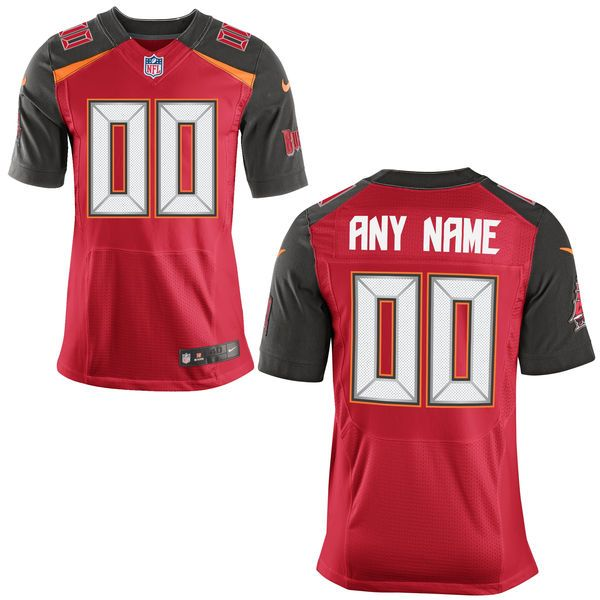 Mens Tampa Bay Buccaneers Red Elite Current Player Jersey