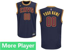 Mens Adidas Nba Cleveland Cavaliers Navy Blue Current Player Jersey