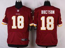Mens Nfl Washington Redskins #18 Josh Doctson Red Elite Jersey