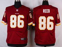 Mens Nfl Washington Redskins #86 Jordan Reed Red Elite Jersey