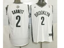 Mens Nba Brooklyn Nets #2 Kevin Garnett (brooklyn) White Jersey (p)