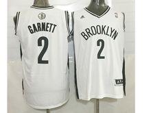 Mens Nba Brooklyn Nets #2 Kevin Garnett (brooklyn) White Jersey (p)