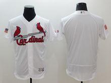 mens majestic st.louis cardinals blank white fashion stars stripes Flex Base jersey