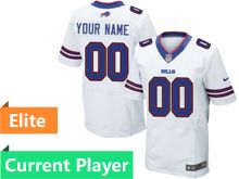 Mens Buffalo Bills White Elite Current Player Jersey
