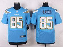 Mens Nfl   San Diego Chargers #85 Antonio Gates Light Blue Elite Alternate Jersey