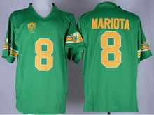 Mens Ncaa Nfl Oregon Ducks #8 Marcus Mariota Green 1994 Throwback Jersey