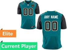 Mens Jacksonville Jaguars Green Elite Current Player Jersey
