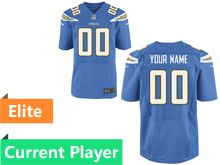 Mens Los Angeles Chargers Light Blue Elite Current Player Jersey
