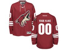 Reebok Nhl Arizona Coyotes (custom Made) Red Jersey