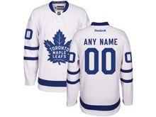 Reebok Toronto Maple Leafs (custom Made) White 2016 Away Premier Jersey