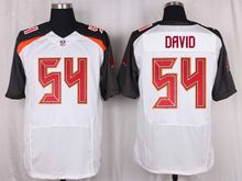 Mens Nfl Tampa Bay Buccaneers #54 Lavonte David White Elite Jersey