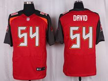 Mens Nfl Tampa Bay Buccaneers #54 Lavonte David Red Elite Jersey
