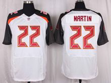 Mens Nfl Tampa Bay Buccaneers #22 Doug Martin White Elite Jersey
