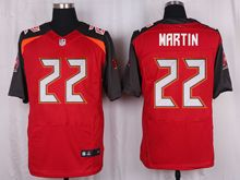 Mens Nfl Tampa Bay Buccaneers #22 Doug Martin Red Elite Jersey