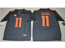 Mens Ncaa Nfl Tennessee Volunteers #11 Joshua Dobbs Black Limited Jersey