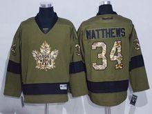 Mens Nhl Toronto Maple Leafs #34 Auston Matthews Green (2016) Jersey