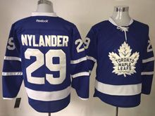 Mens Reebok Nhl Toronto Maple Leafs #29 William Nylander Blue 2016 Jersey