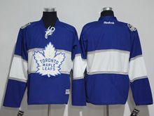 Mens Reebok Nhl Toronto Maple Leafs Custom Made Blue 2017 Centennial Classic Jersey