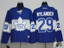 Mens Reebok Nhl Toronto Maple Leafs #29 William Nylander Blue 2017 Centennial Classic Jersey