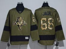 Mens Reebok Nhl Florida Panthers #68 Jaromir Jagr Green Jersey