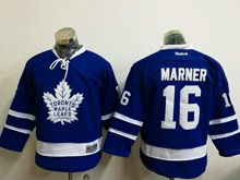 Youth Reebok Nhl Toronto Maple Leafs #16 Mitchell Marner Blue Jersey