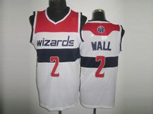 Mens Nba Washington Wizards #2 John Wall White Revolution 30 Mesh Jersey
