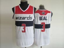 Mens Nba Washington Wizards #3 Beal White Revolution 30 Mesh Jersey