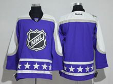 Mens Reebok St.louis Blues Blank Purple 2017 All Star Hockey Jersey