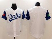 Mens Mlb Jtalia Team 2017 Baseball World Cup White Blank Jersey